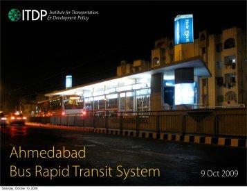 Ahmedabad Bus Rapid Transit System