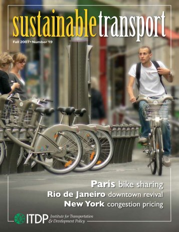 Bike Sharing Sweeps Paris Off Its Feet - ITDP | Institute for ...