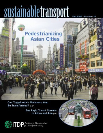 Download PDF - ITDP | Institute for Transportation and Development ...