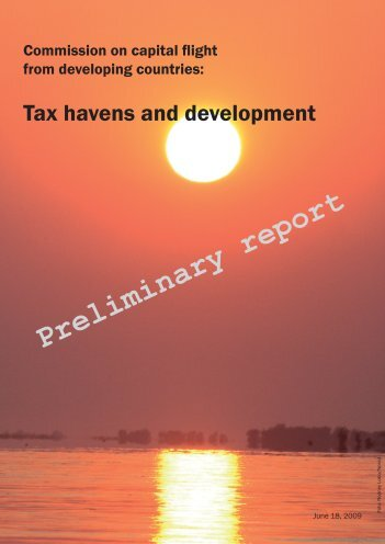 Preliminary report - International Tax Dialogue