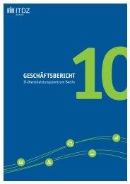 2010 (PDF) - IT-Dienstleistungszentrum Berlin