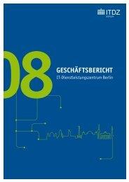 2008 (PDF) - IT-Dienstleistungszentrum Berlin