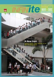 infinITE Issue 115 - Institute of Technical Education