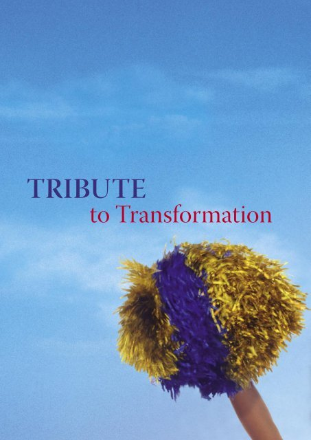 Tribute to Transformation - Institute of Technical Education
