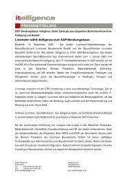 PDF herunterladen - Itelligence AG