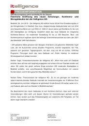 Informationen - Itelligence AG