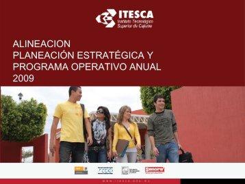 Planeación Estrategica y Programa Operativo Anual 2009