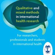 Qualitative and mixed methods in international health research - Itg