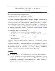 Summary consensus 2009 - Itg