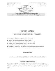 EDITION 2007-2008 REUNION DE CONSENSUS 15/06/2007 - Itg