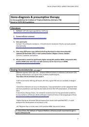 Gono-diagnosis & presumptive therapy - Itg