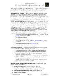 IT Governance Ltd Why Should You Consider IT Governance ...