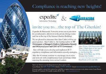 Compliance is reaching new heights! - IT Governance Ltd