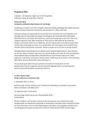 Programm 2011 - Institut für Theorie ith