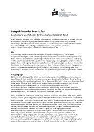 Perspektiven der Eventkultur - Institut für Theorie ith