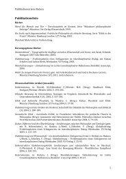 Publikationsliste - Institut für Theorie ith