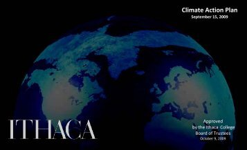 Ithaca College Climate Action Plan - ACUPCC Reports - Climate ...