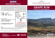 GRAPE RUN - Itheko Sport Athletic Club