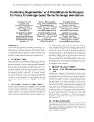 Combining Segmentation and Classification Techniques for Fuzzy ...