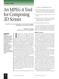 An MPEG-4 tool for composing 3D scenes ... - IEEE Xplore