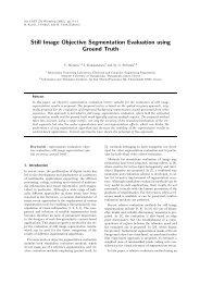 Still Image Objective Segmentation Evaluation using Ground Truth