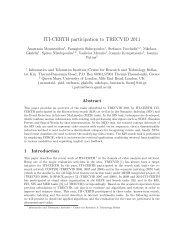 ITI-CERTH participation to TRECVID 2011