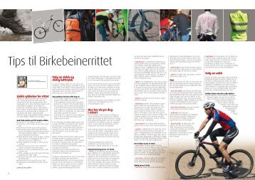 Tips til Birkebeinerrittet - Bern Hansen