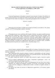 Regolamento Disciplinare - ITIS 'Heinrich Hertz'