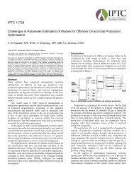 Challenges in Parameter Estimation of Models for Offshore ... - NTNU