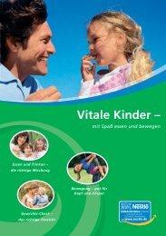 Vitale Kinder – - Nestle Ernährungsstudio - Nestlé Deutschland AG