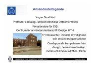 OH-bilder Yngve Sundblad - IT-kommissionen