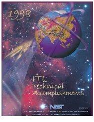 FY 1998 - NIST Information Technology Laboratory - National ...