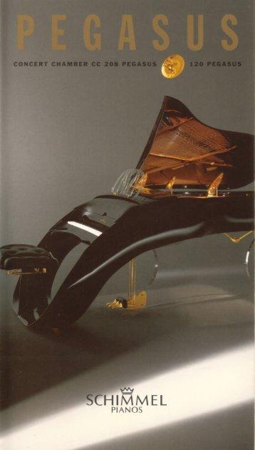 Pegasus Brochure - Demmer - Pianos & Flügel