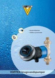 VORTEX brugsvandspumper - Deutsche Vortex Gmbh & Co. KG