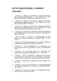 Publikationen Schnack 1973-2007 per 06_2007 - am Institut für ...