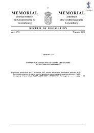 Convention collective de travail - Legilux