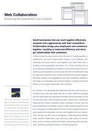 Web Collaboration - IT Management Associates