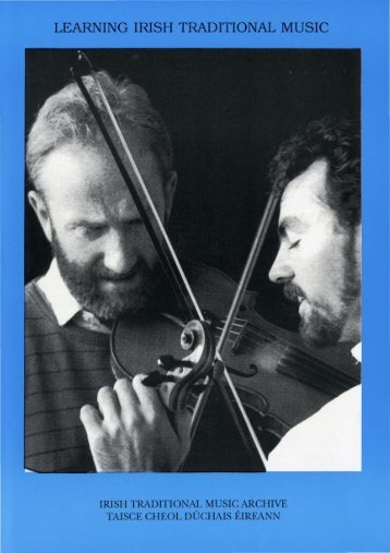 learning irish traditional music - Irish Traditional Music Archive
