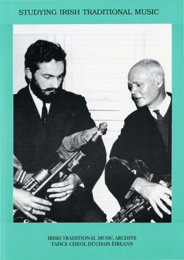 studying irish traditional music - Irish Traditional Music Archive