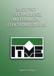 Katalog na rok 2012 w wersji PDF - ITME