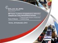 BIP Torino: il sistema di bigliettazione elettronica integrato per l ... - ITN