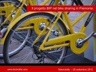 Bicincittà. L'utilizzo del B.I.P nei servizi di bike sharing piemontesi - ITN