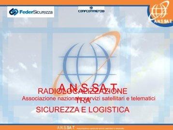 Radiolocalizzazione tra sicurezza e logistica - ITN