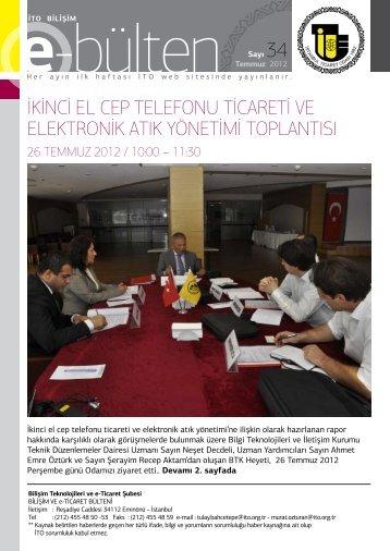 ikinci el cep telefonu ticareti ve elektronik atık yönetimi toplantısı