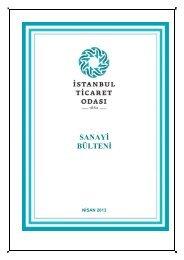 SANAYİ BÜLTENİ (1. SAYI) - ITO