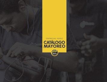 CATÁLOGO MAYOREO