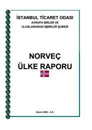 NORVEÇ ÜLKE RAPORU - ITO