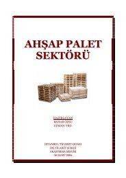Ahşap Palet Sektör Araştırma 2004 - ITO