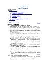 06. Sayı - Ağustos-Eylül 2003 - ITO