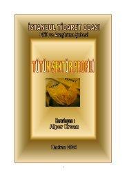 Tütün Sektör Profili 2004 - ITO